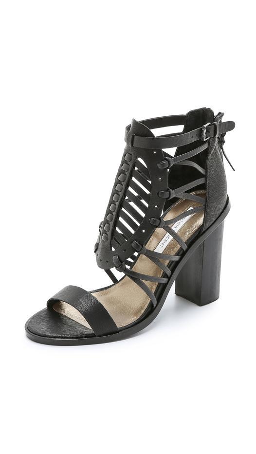 Cynthia Vincent Flora Chunky Heels Sandals
