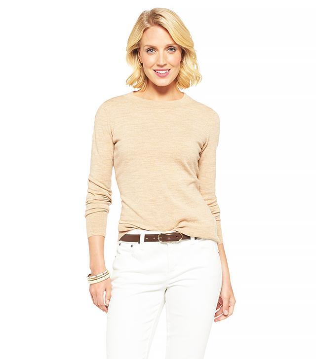Merona Wool Crew Neck Sweater