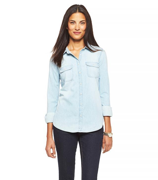 Merona Women's Denim Favorite Shirt