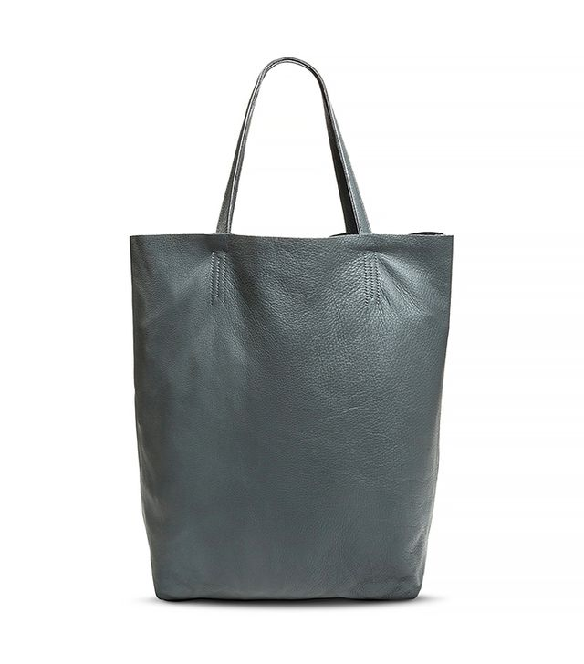 Merona Women's Genuine Leather Slouchy Tote Handbag