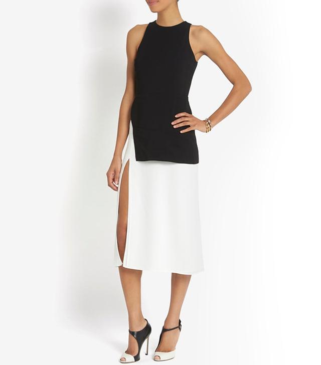 A.L.C. Mer Slit Colorblock Dress