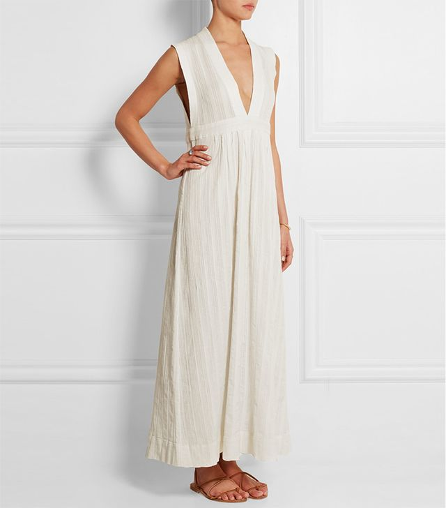 Madewell Dominica Cotton-Voile Maxi Dress