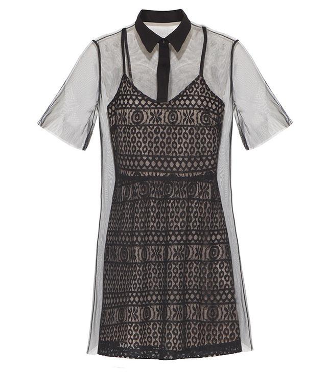 Pixie Market Organza Two Piece Dress