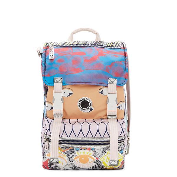 Kenzo Peach Signature Prints Urban Packpack