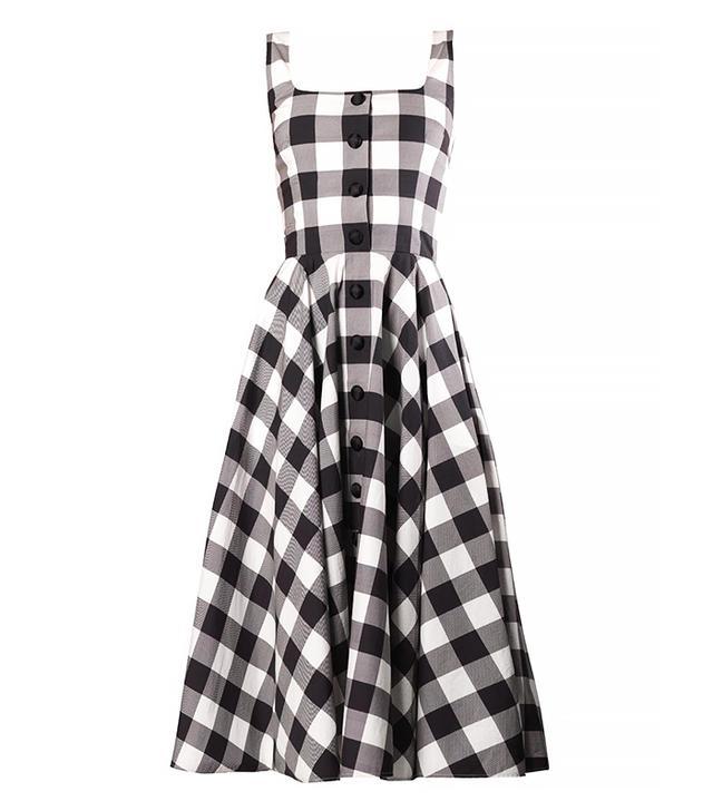 Dolce & Gabbana Vichy Gingham Dress