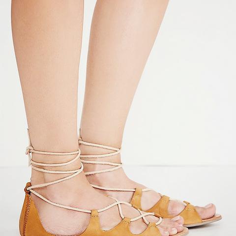 Marrakesh Lace Up Sandals