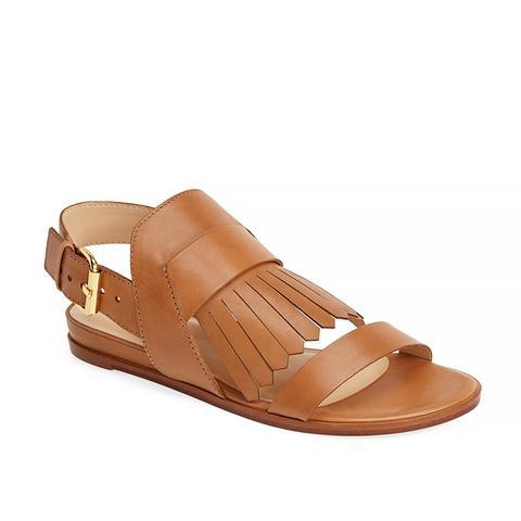 Rowan Leather Fringe Sandals