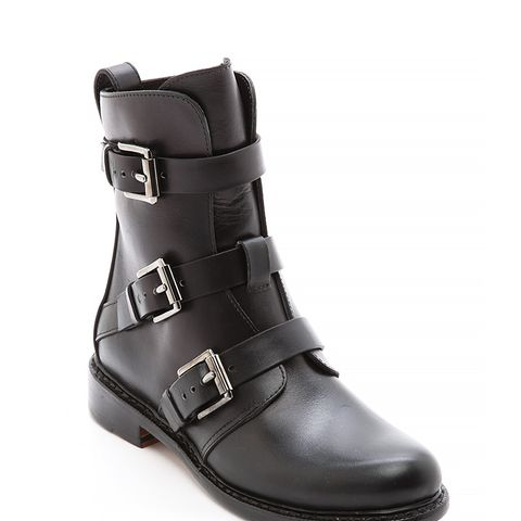 Hudson Buckle Boots