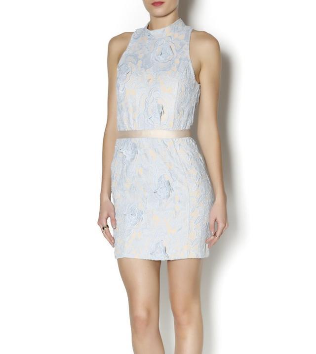 Leeli + Lou Lace Cut Out Dress