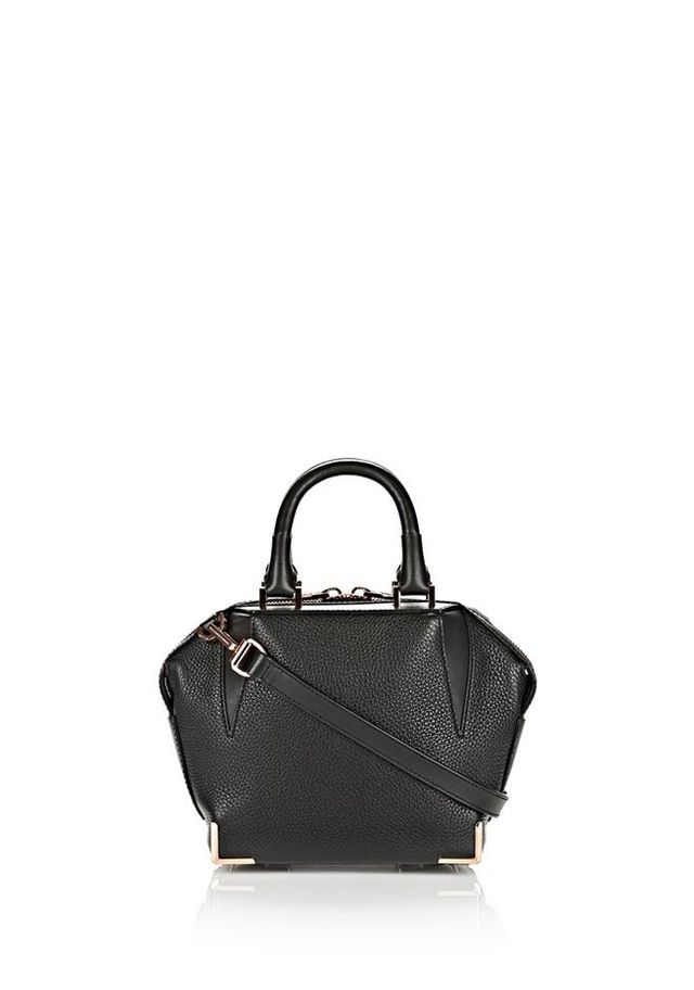Alexander Wang Mini Black Emile Bag