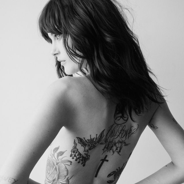 Model Cat McNeil Shows Off All Her Tattoos In CR Fashion Book