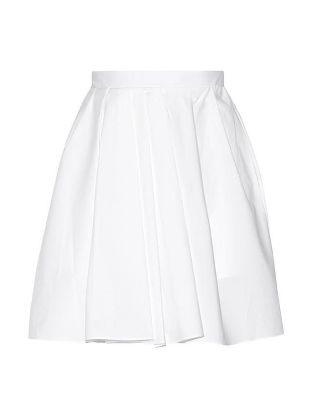 Carven Cotton-Poplin Skirt