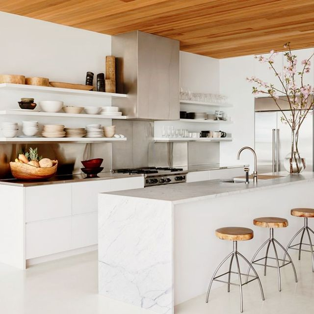 19 of the Most Stunning Modern Marble Kitchens. Is This the Most Luxurious Kitchen You ve Ever Seen    MyDomaine