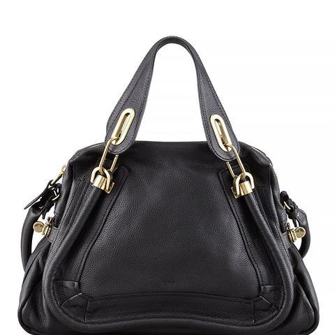 Paraty Shopper Bag in Black