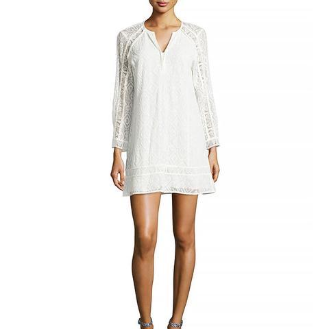 Drifter Long Sleeve Lace Dress