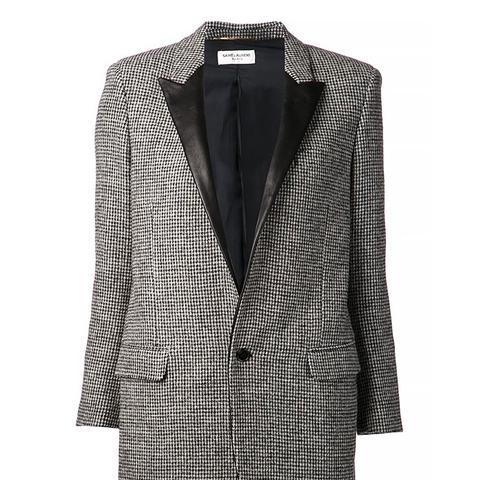 Leather Lapel Jacket