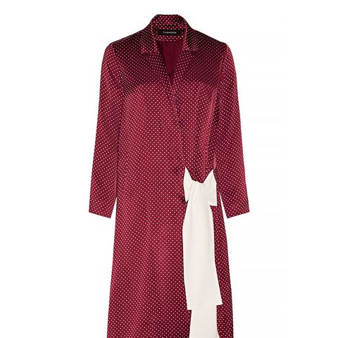 Satin-Jacquard Coat