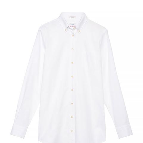 Yale Solid Oxford Boyfriend Shirt