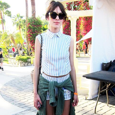 Alexa Chung Coachella Outfit