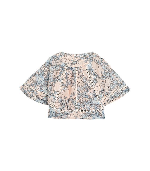 Zimmermann Cropped Cotton Top