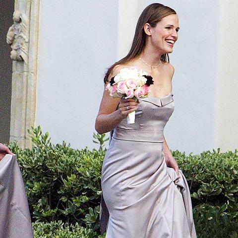 Celebrity bridesmaids dresses: Jennifer Garner