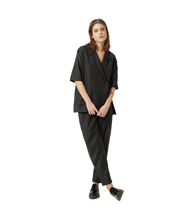Botique Tie-Side Takashi Wrap Top And Trousers