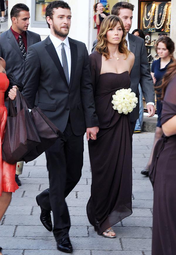 Celebrity bridesmaids dresses: Jessica Biel