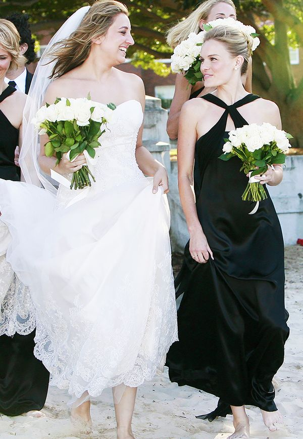 Celebrity bridesmaids dresses: Kate Bosworth