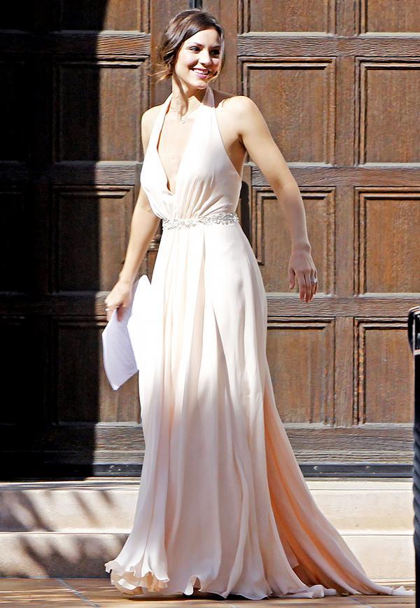 Celebrity bridesmaids dresses: Katharine McPhee