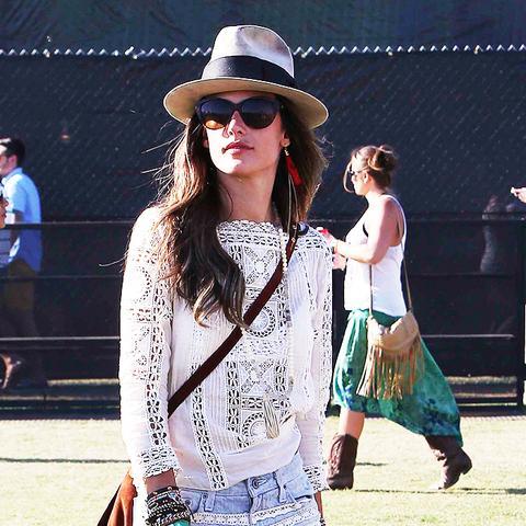 Alessandra Ambrosio Coachella outfit
