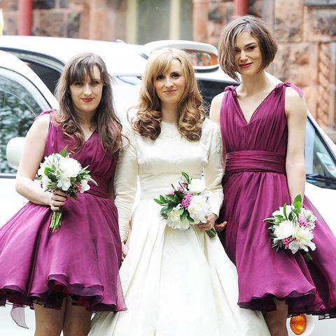 Celebrity bridesmaids dresses: Keira Knightley