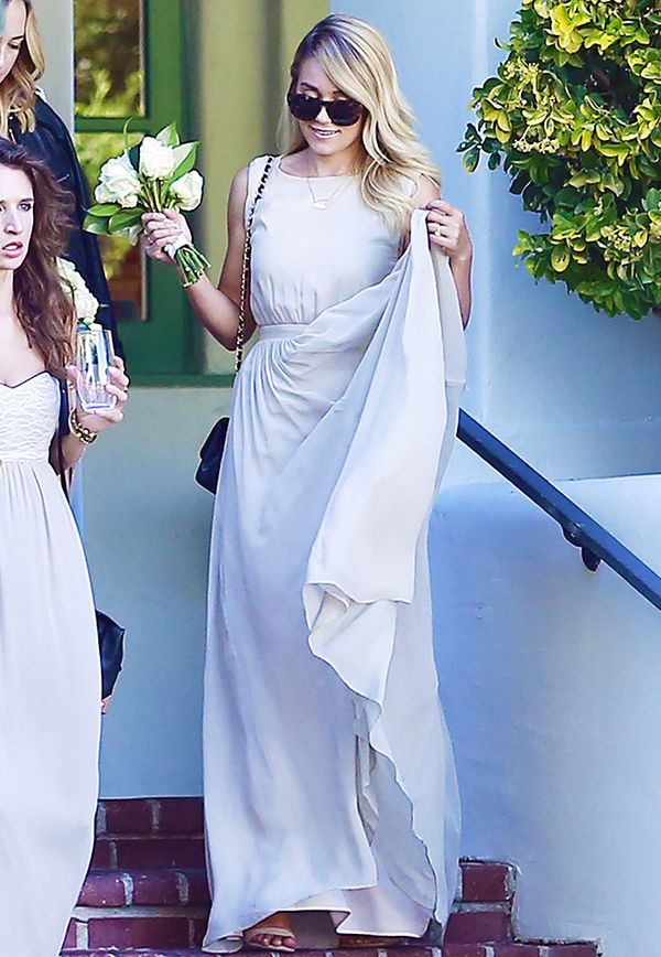 Celebrity bridesmaids dresses: Lauren Conrad