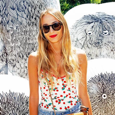 Harley Viera-Newton Coachella Outfits