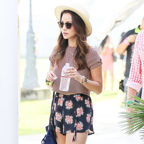 Jamie Chung Coachella outfits