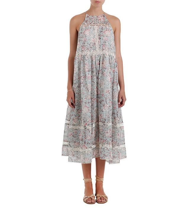 Zimmermann Gemma Folk Floral Sun Dress