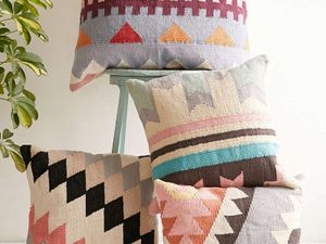 13 Patterned Pillows to Add Punch to Any Room