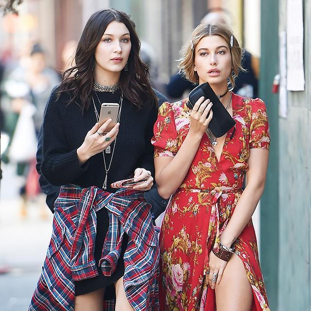 Bella Hadid and Hailey Baldwin Have Us Rethinking Our Coachella Look