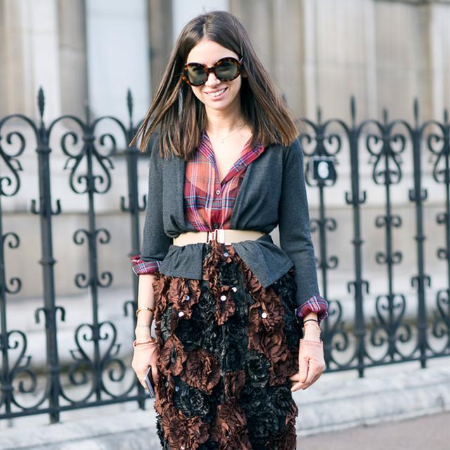 A Super Stylish Way to Wear Your Basic Cardigan