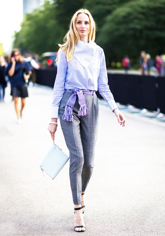 Style Tip: Give your 9-to-5 outfit extra personality with a frayed-edge belt.  Need a non-basic belt? Scroll down to shop our favorites right now!