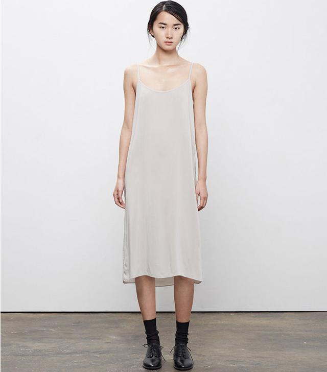 La Garconne Moderne Portrait Slip Dress