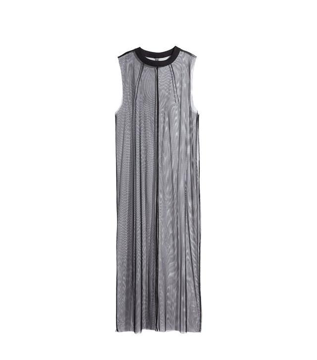 H&M Long Mesh Dress