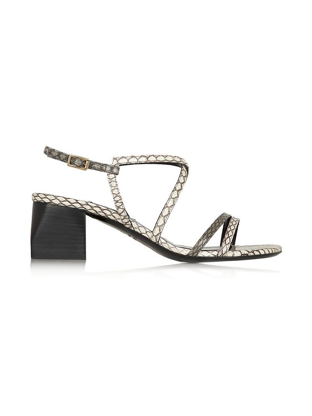 Lanvin Elaphe Sandals