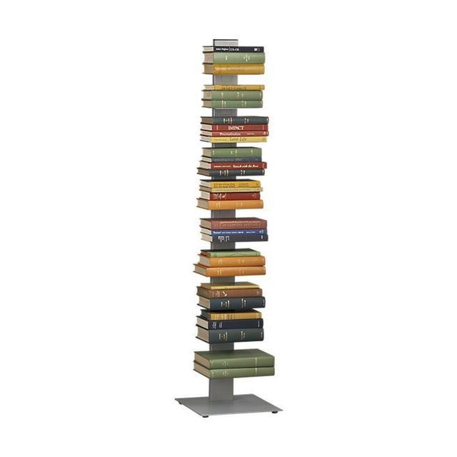 CB2 Array Silver Bookcase