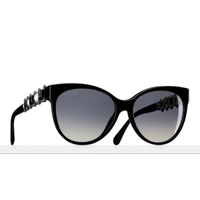 Chanel Encrusted Butterfly Sunglasses