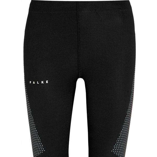 Falke Ergonomic Sport System Mesh-Paneled Stretch-Jersey Capri Leggings