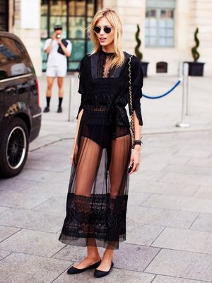 How to Actually Wear a Sheer Dress: A Shopping Guide
