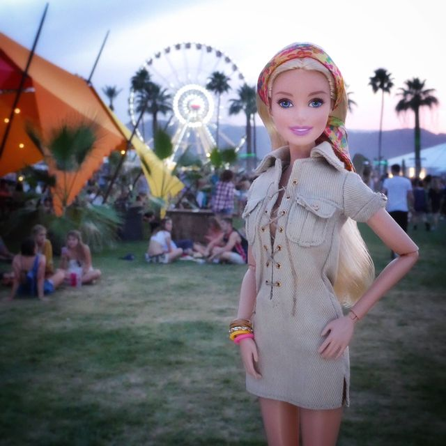 Yes, Even Barbie Went to Coachella
