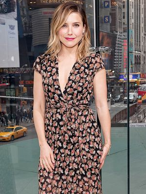Sunday Brunch Inspiration: Sophia Bush's Floral Frock