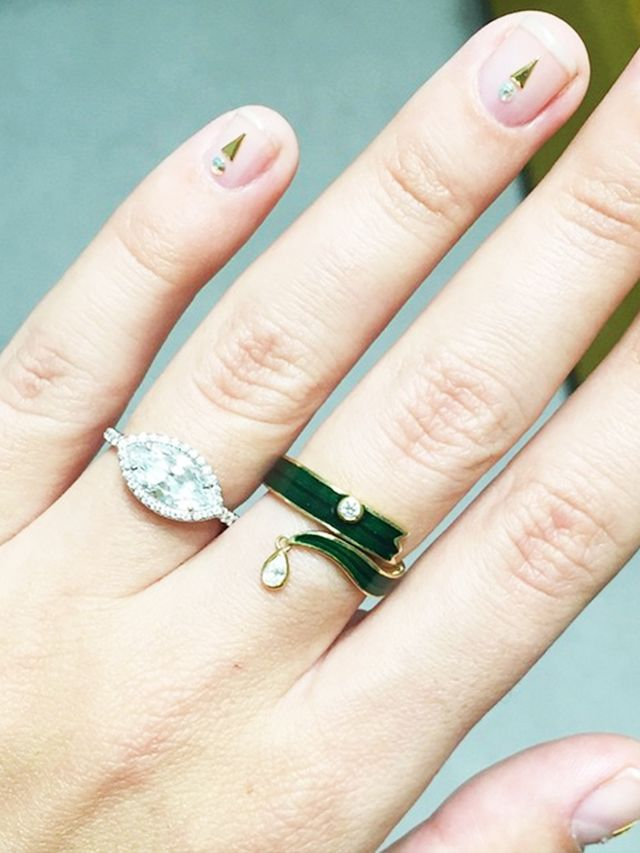 The 10 Fashion Insiders With The Prettiest Engagement