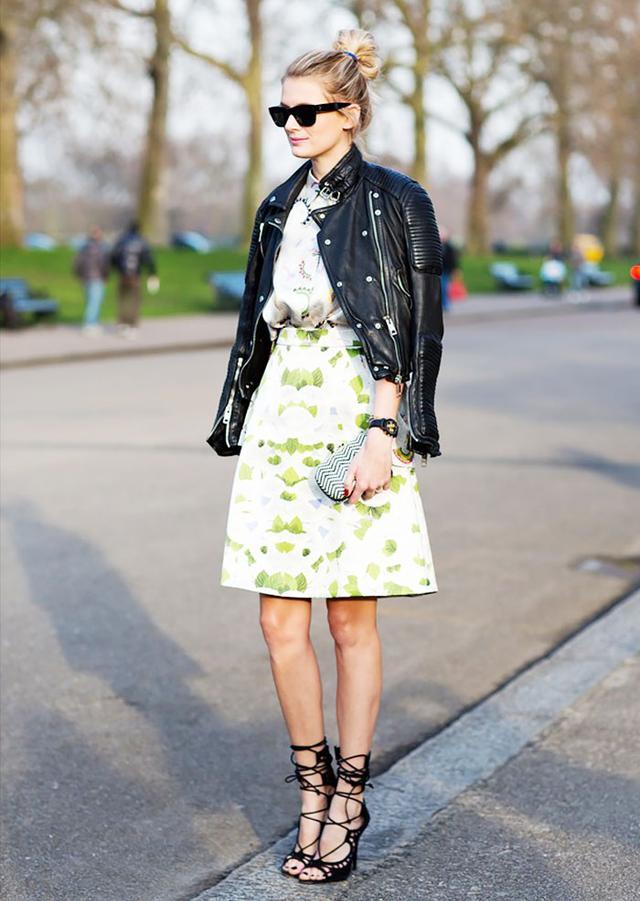 Knee-Length A-Line Skirt